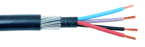 240mm x 3 CORE ARMOURED CABLE /M