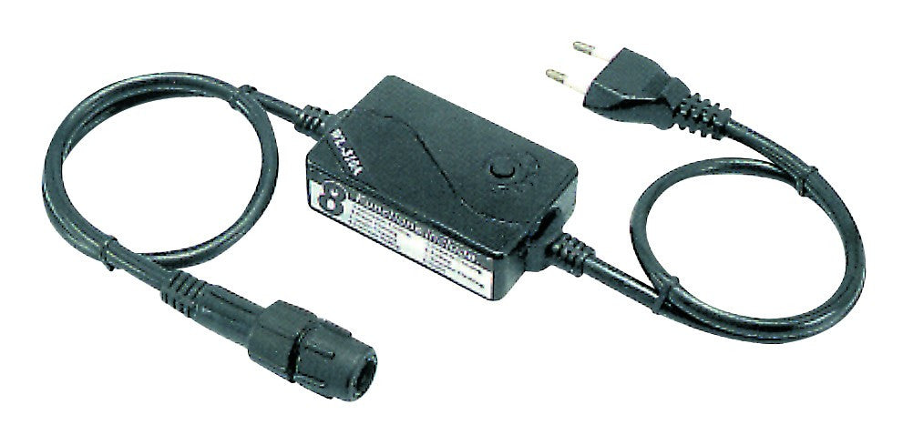 BLACK MAINS CORD FOR 2-WIRE FLEXILIGHT