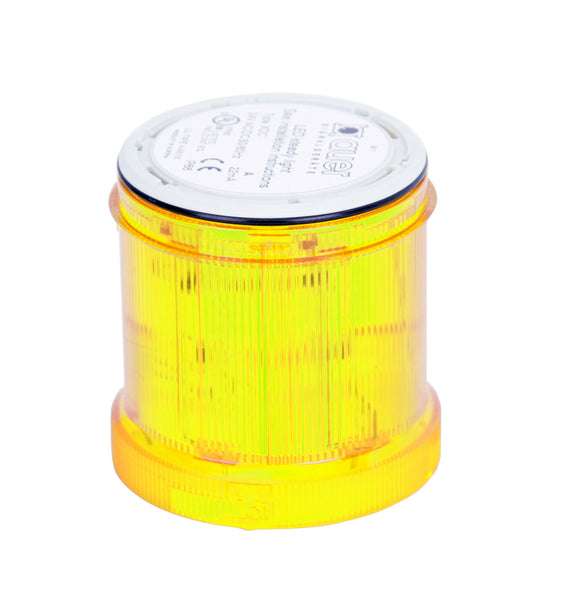 STEADY ON YELLOW LIGHT 7W 70mm (ORDER LAMP SEPERATELY)