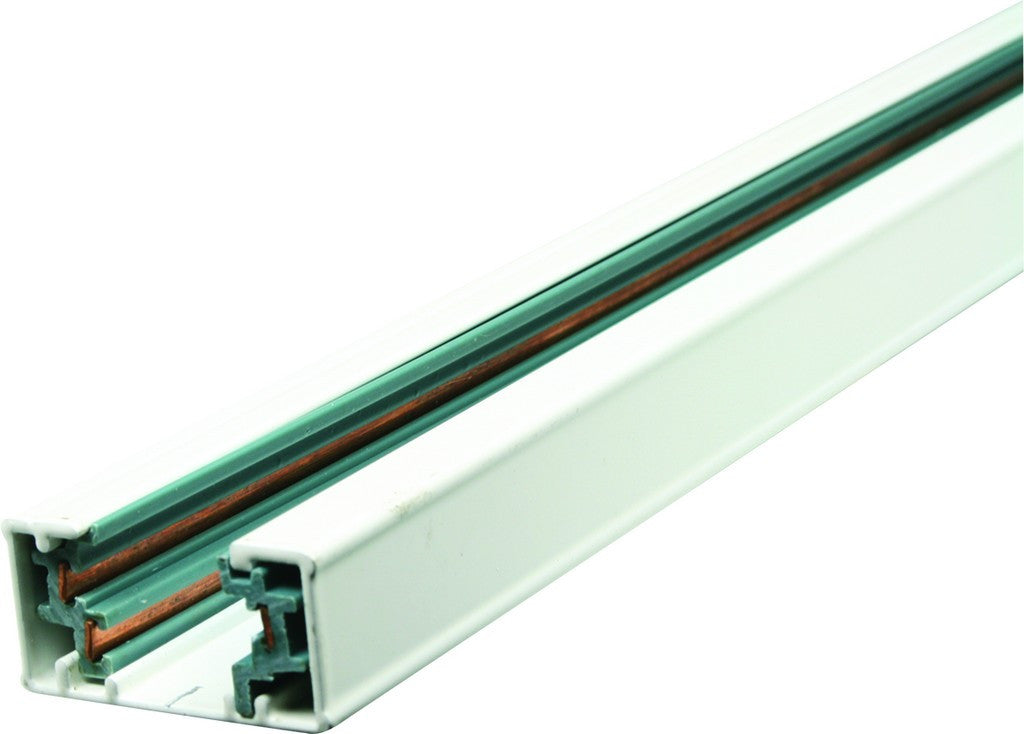 230vac 3 wire 2m track for track lighting white