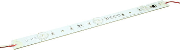 24VDC, 3.2W, 7 LEDs, 175° VIEW ANGLE, BACKLIT STRIP (630x20)