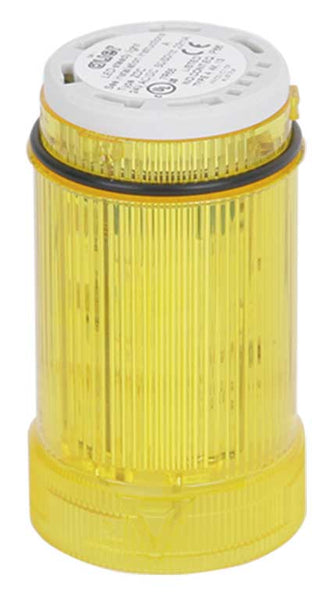 24VAC/DC STROBE YELLOW LIGHT LED 1.4Hz 40mm