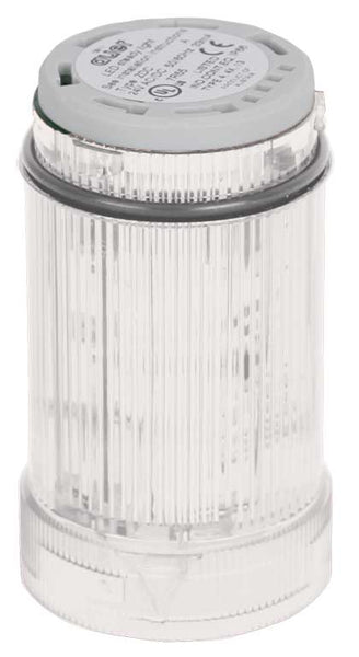 230-240VAC MULTI STROBE CLEAR LIGHT LED 1-2.6Hz 40mm
