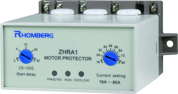230VAC 3-15KW MOTOR PROTECTION RELAY 1 N/C