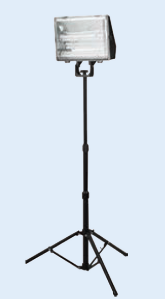 3x24W WORK LAMP WITH ELEC BALLAST AND TRIPOD STAND