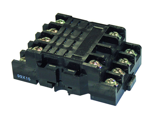 BASE FOR D8+AL RELAYS, 300V/10A, IP20