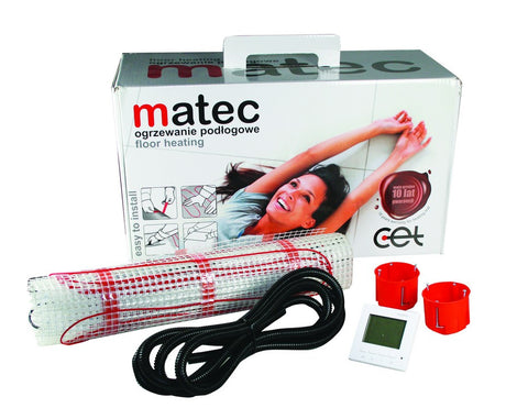 1 SQ/M UNDER FLOOR HEATING KIT 150W/M 230VAC