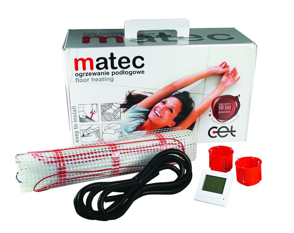 2.5 SQ/M UNDER FLOOR HEATING KIT 150W/M 230VAC