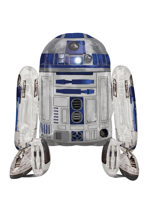 Star Wars R2-D2 Airwalkers Foil Balloon