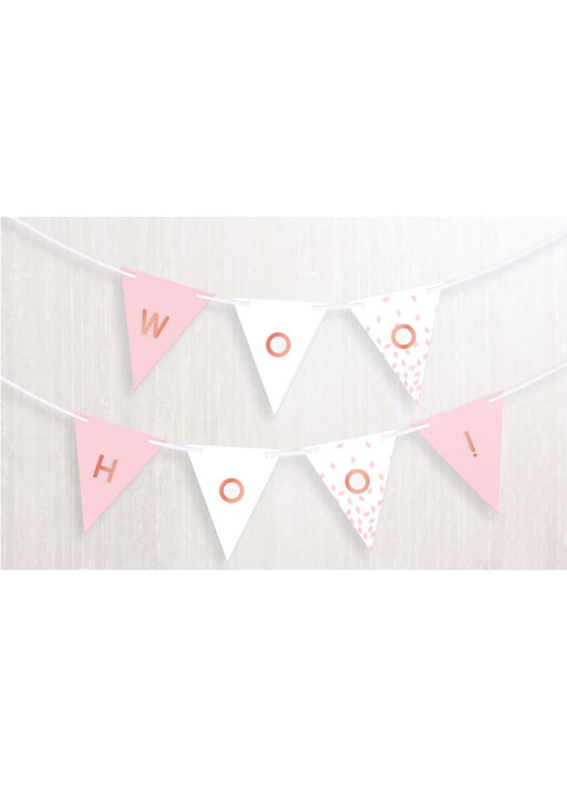 Rose Gold Blush Custom Banner
