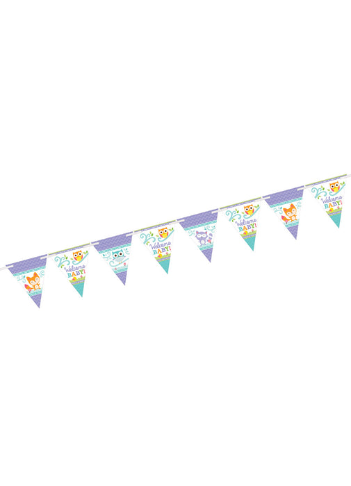 Woodland Welcome Pennant Banner