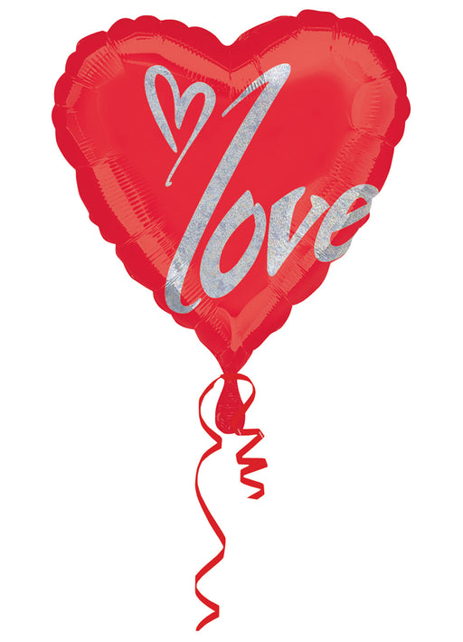 Jumbo Heart Foil Balloon