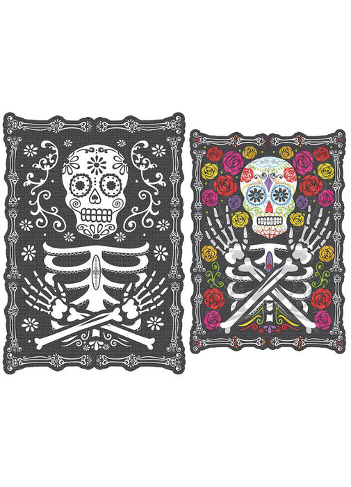 Day Of The Dead Lenticular Portrait