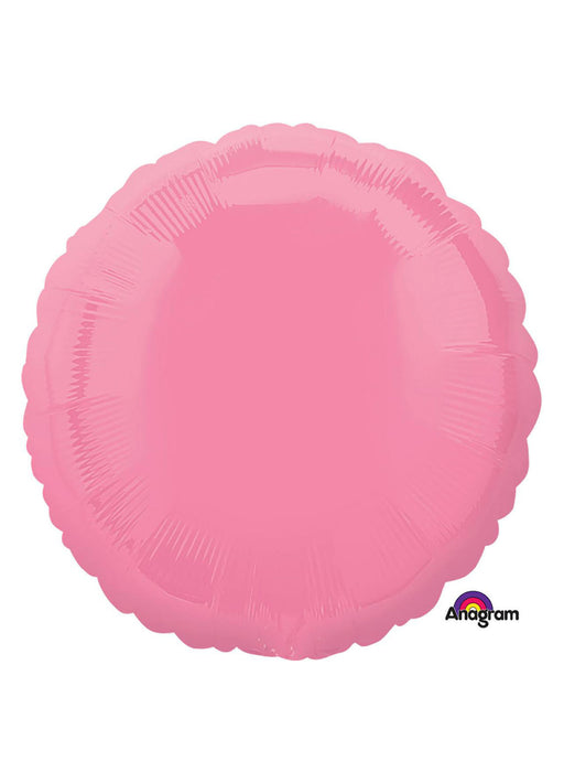 Hot Pink Circle Foil Balloon