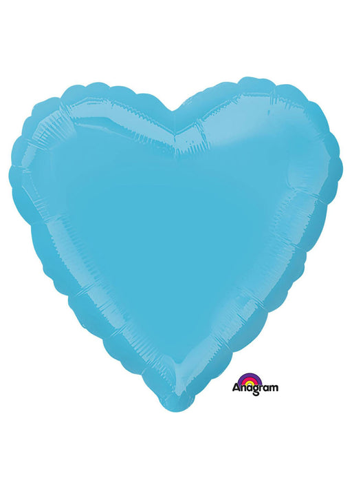 Light Blue Heart Foil Balloon