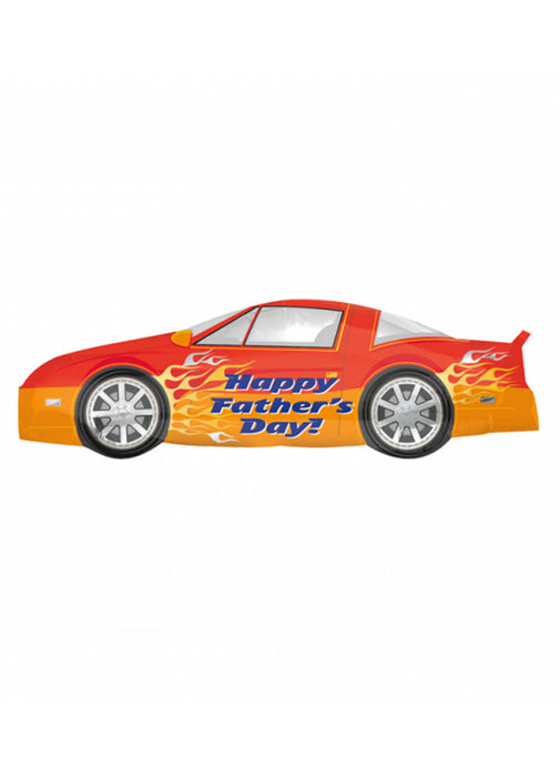 Father's Day Car SuperShape Foil Balloon
