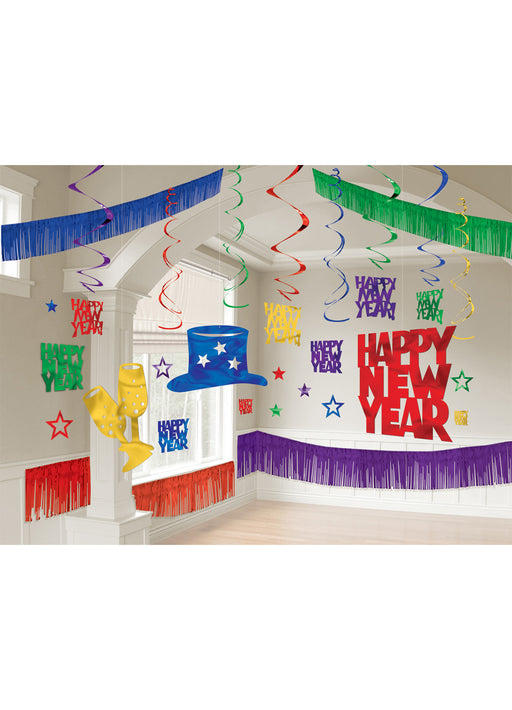 New Years Colourful Room Decorating Kit