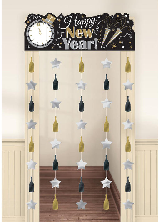 Happy New Year Doorway Curtain