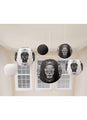 Day Of The Dead Paper Lanterns 6pk