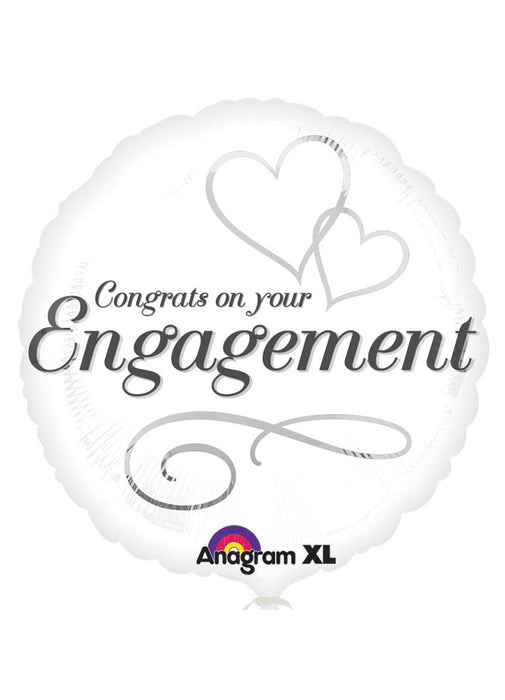 Engagement Congrats Foil Balloon