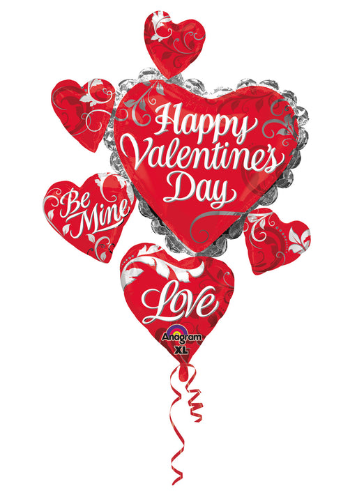 Happy Valentines Day SuperShape Foil Balloon