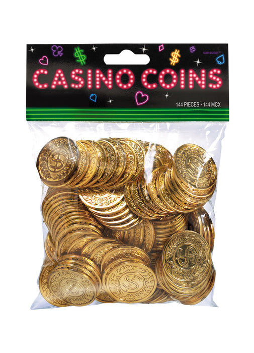Casino Coin Decorations