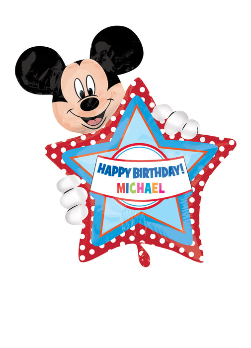 Mickey Mouse Personalized Foil Balloon