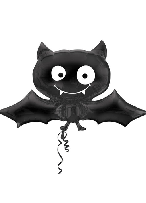 Black Bat SuperShape Foil Balloon