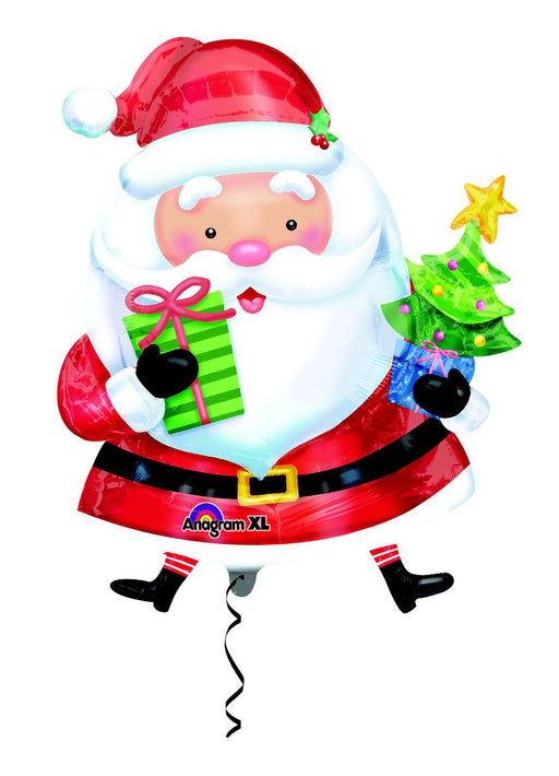 Santa Claus SuperShape Foil Balloon