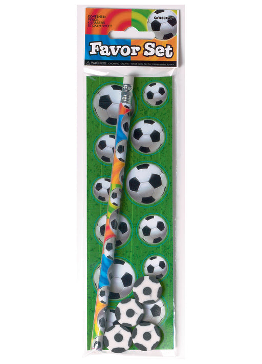 Football Party Favours Set