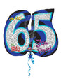 Oh No 65th Birthday Foil Balloon
