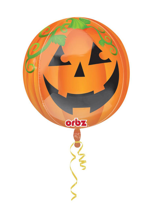 Orbz Pumpkin Foil Balloon