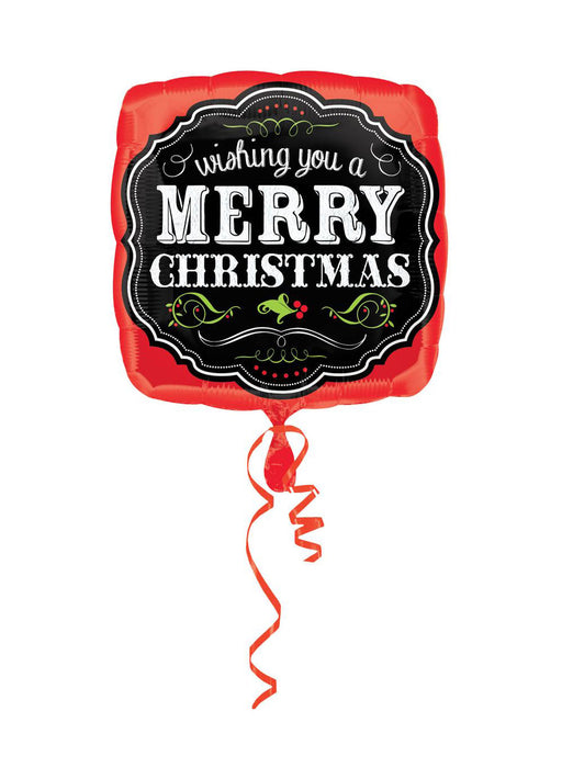 Merry Christmas Foil Balloon
