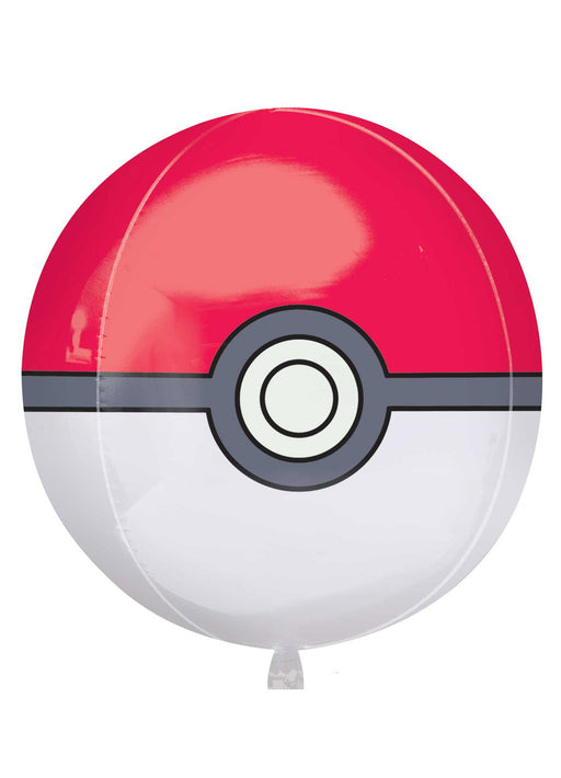 Pokeball Orbz Foil Balloon