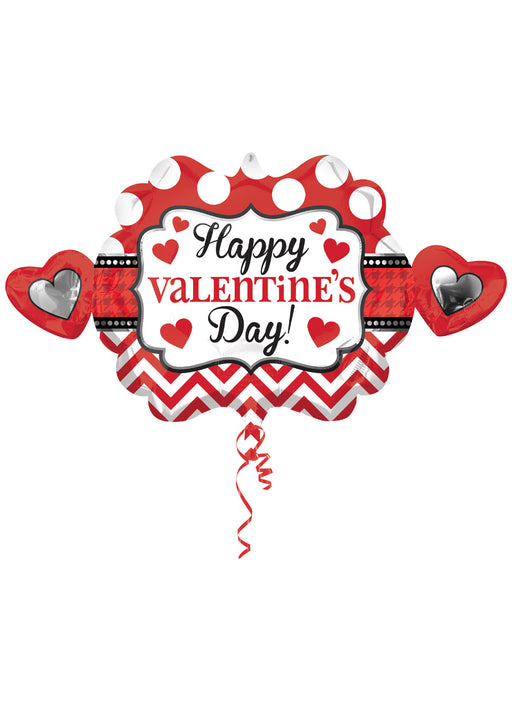 Valentine's Day SuperShape Foil Balloon