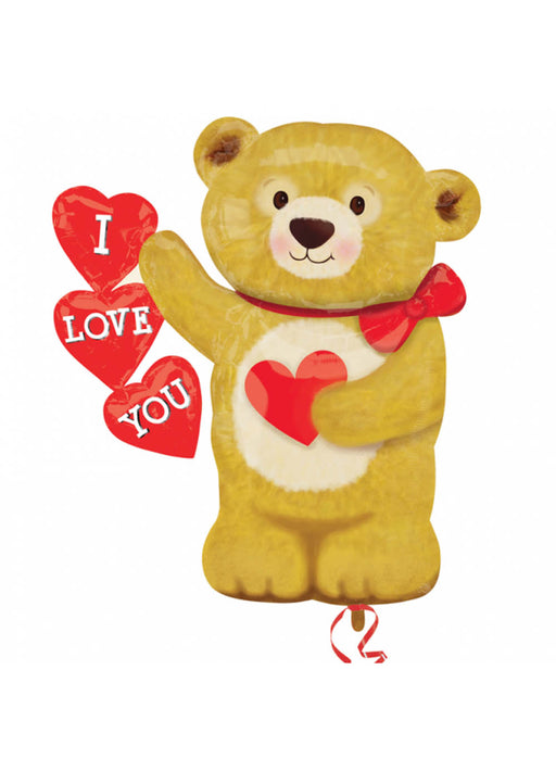 Valentines Bear Supershape Foil Balloon