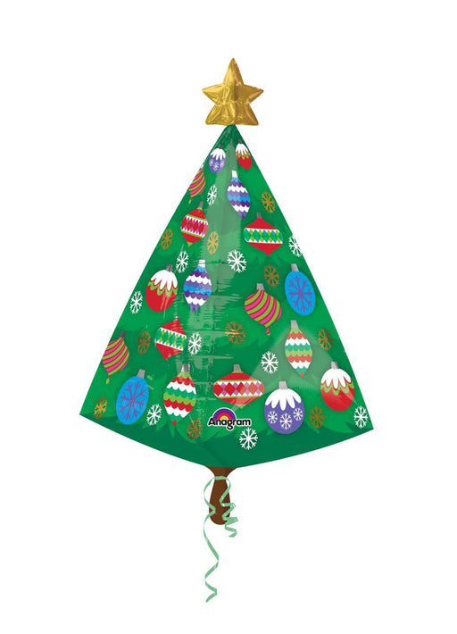 Christmas Tree UltraShape Foil Balloon