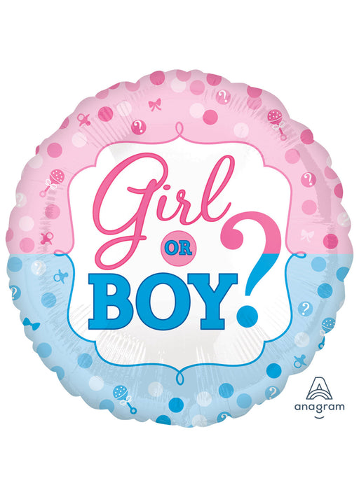 Gender Reveal Foil Balloon