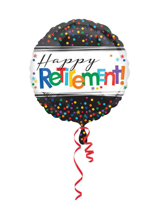 Happy Retirement Standard Foil Balloon