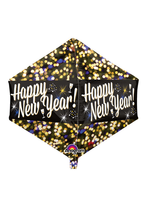 Happy New Year Anglez Foil Balloon