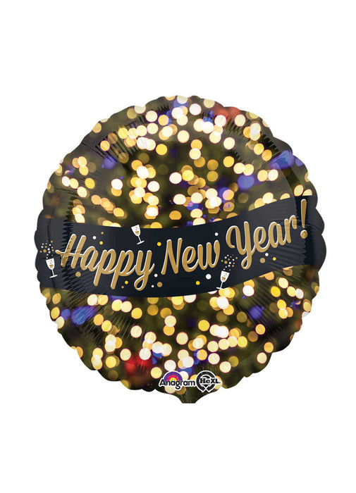 Happy New Year Standard Foil Balloon