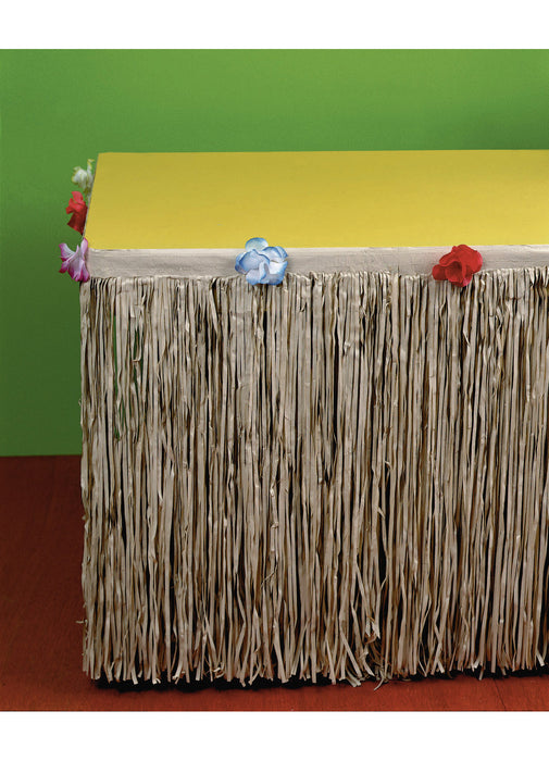 Natural Tissue Table Skirt