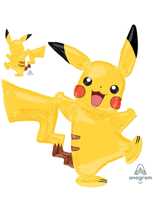 Pikachu Pokemon Airwalker Foil Balloon