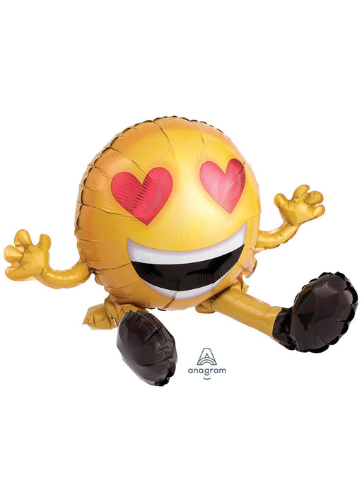 Valentine's Emoticon Sitting Balloon