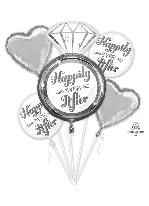 Happily Ever After Bouquet Foil Balloon