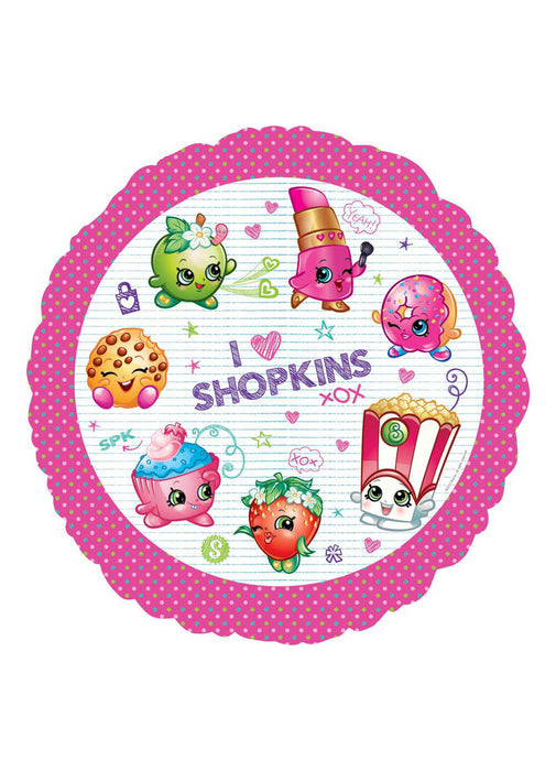 Shopkins Standard Foil Balloon