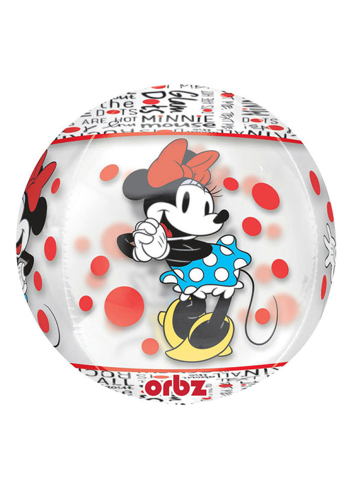 Minnie Mouse Orbz Foil Balloon