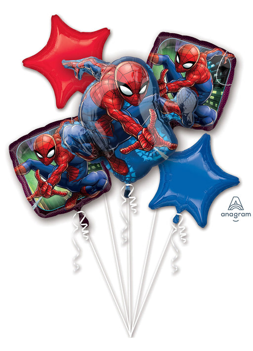Spiderman Bouquet Foil Balloon