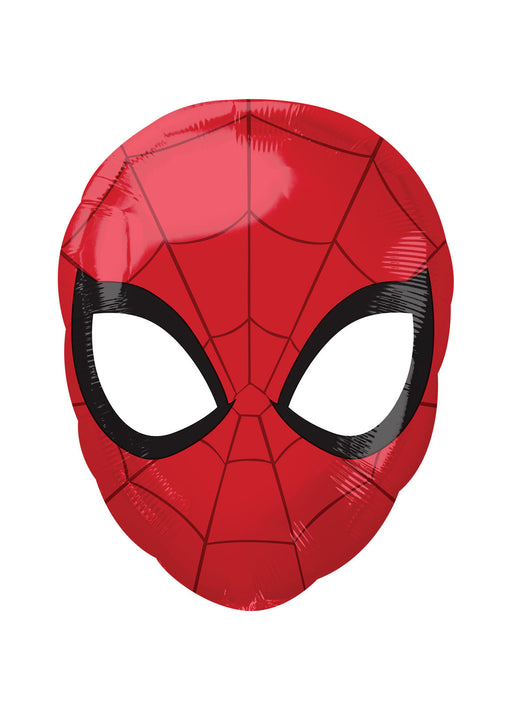 Spiderman Head Standard Foil Balloon