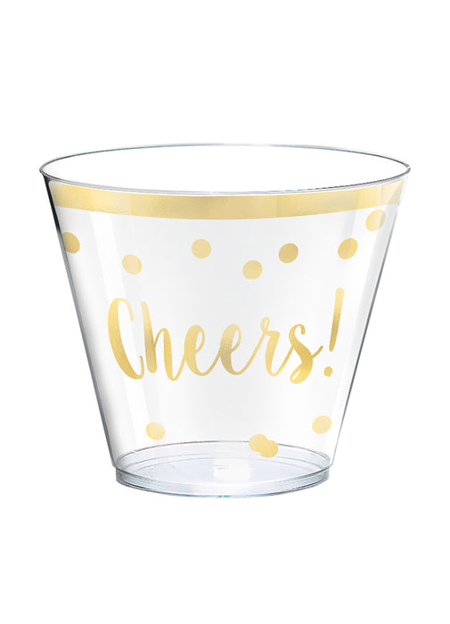 Cheers Party Plastic Tumblers 30pk